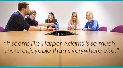 Excellent reviews place Harper Adams in the running for eight Student Choice Awards.