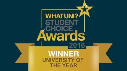 Harper Adams University wins Whatuni University of the Year