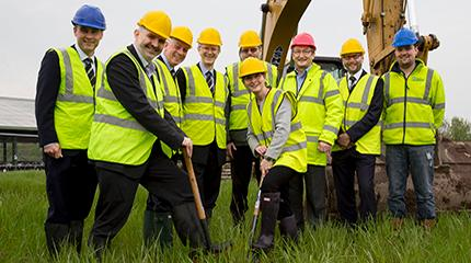 Work starts on new Agri-EPI precision dairy