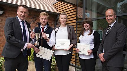 Student placement awards 2016