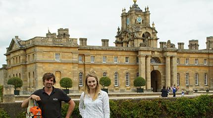 Harper Adams degree takes graduates to a palace in the countryside (part 1)