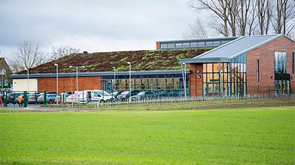 Dairy Crest Innovation Centre at Harper Adams University shortlisted for THE Award