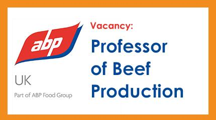 ABP and Harper Adams unite in appointment of  Professor of Beef Production