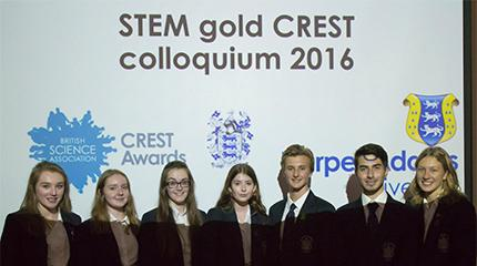 Local sixth form students complete research projects at Harper Adams for CREST Award