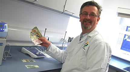 """New plastic banknotes will harbour less bacteria than the old 'paper' ones"" says research"