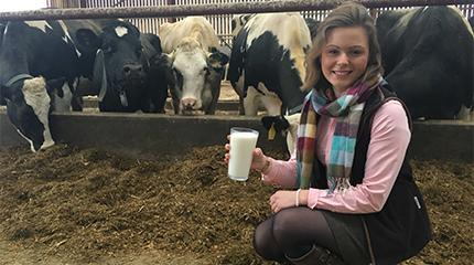Milk innovation to be topic of final year scholar's project