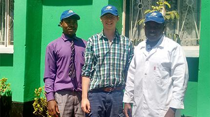 Zambian experience inspires Harper Adams University student's future career