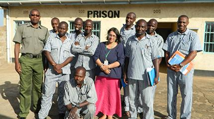 Lecturer 'gains beyond measure' from three weeks teaching in African prisons