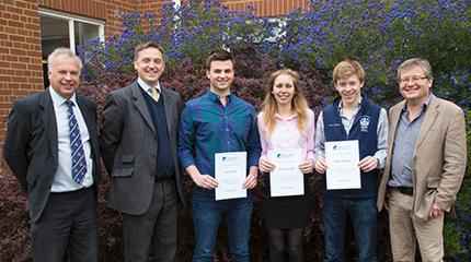 Carter Jonas rewards students for stewardship scheme projects