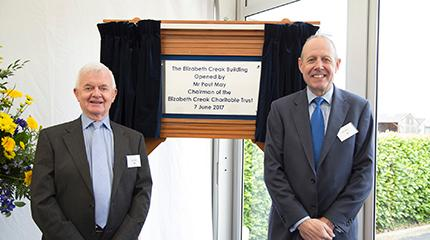 Official opening of the Elizabeth Creak laboratories building