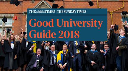Harper Adams takes highest ever modern university spot in Times university guide