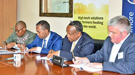 Agreement signed for delivery of new agri-business junior management course in Africa