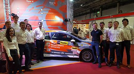 Harper Adams students to race in British Rally Championship for second year