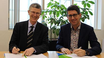 Harper Adams University signs up to new European partnership