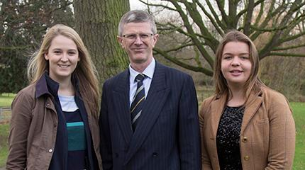 Students recieve scholarship to attend the Oxford Farming Conference