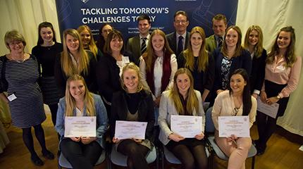 Students receive £418,000 in scholarship awards