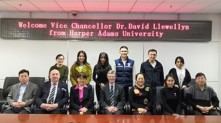 Teaching and research links at the heart of China tour talks