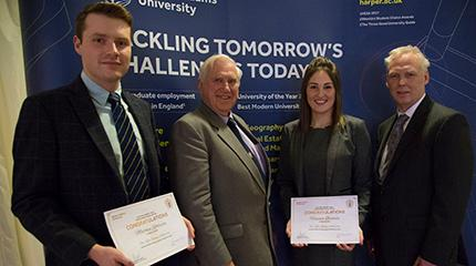 Matthew from non-farming background awarded Kelly Bronze scholarship including graduate position