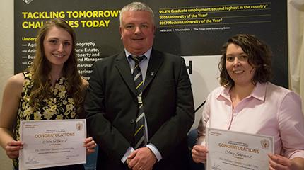 Double scholarships awarded to mature student Amy Shepherd
