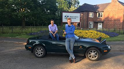 Harper Adams engineering duo set to take part in Mongol Rally to raise awareness for mental health in agriculture