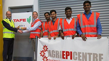 Harper Adams University and global tractor manufacturer TAFE enter into collaboration for new Agri-EPI Centre project