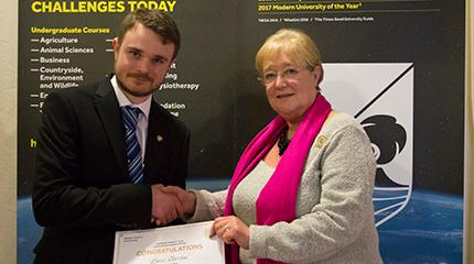 Lewis awarded first Ros Barsley Scholarship
