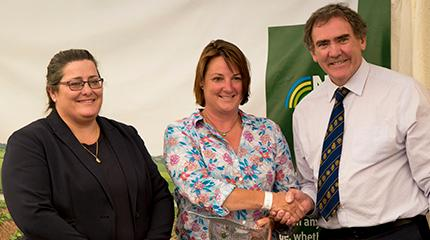 RWAS18: Alumna named Wales Woman Farmer of the Year
