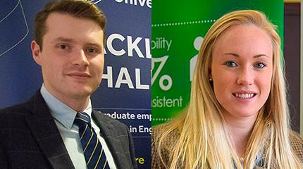 Two students shortlisted for national Farming Awards