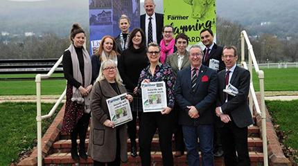 Launch of Three Counties Farming Awards - sponsored by Harper Adams University