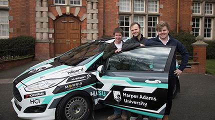 New era for Harper Adams Motorsport Team
