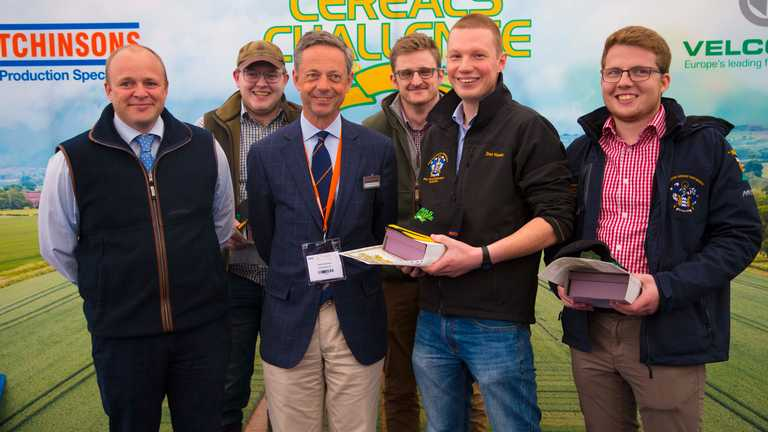 Harper Adams student team wins the Cereals Challenge