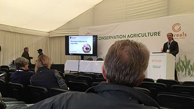 Dr Simon Jeffery's Cereals19 talk on biochar