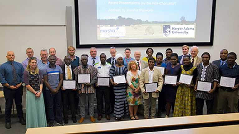 Scholars from African and Asian countries complete Marshal Papworth Fund course