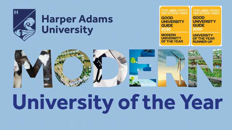 Modern University of the Year: Harper Adams rewrites history as it climbs into the Times top 20 UK universities
