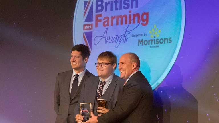 Aled humbled as Harper takes back Agricultural Student of the Year crown