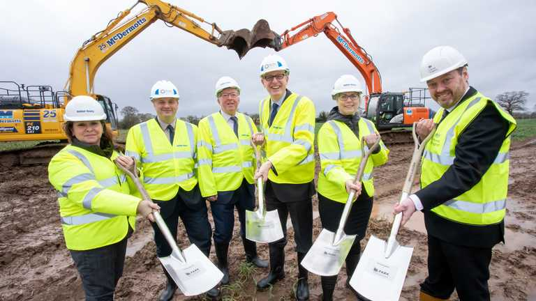 Work begins on Agri-Tech hub