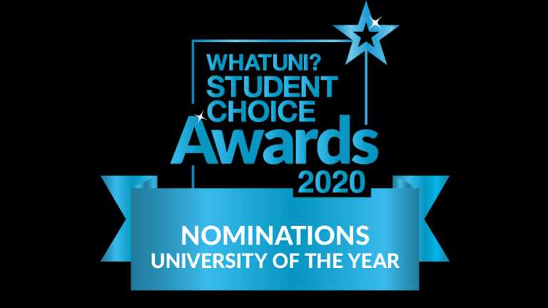 Harper shortlisted for five Whatuni Student Choice Awards!