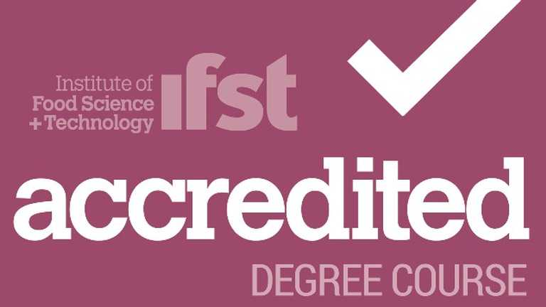 Undergraduate food courses accredited by the Institute of Food Science and Technology
