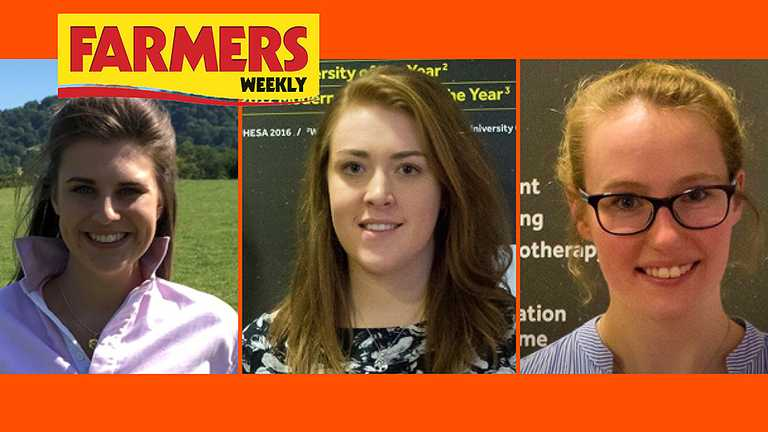 An all Harper shortlist for Farmers Weekly Awards Agricultural Student of the Year competition