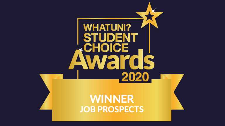 Harper Adams takes Gold for Job Prospects at Whatuni Student Choice Awards