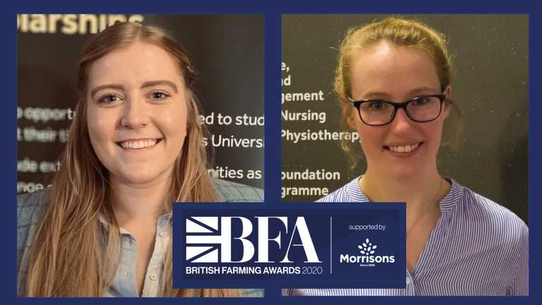 Harper duo in running for Agricultural Student of the Year