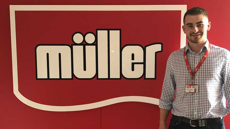 Placement year success for Engineering student at Muller