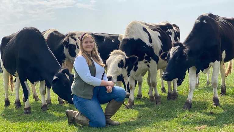 Megan named British Farming Awards Agricultural Student of the Year