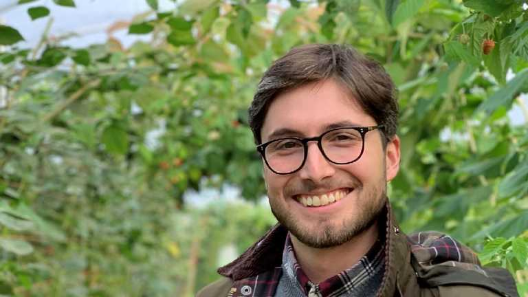 Graduate prizes 2020: Marco honoured by Royal Entomology Society