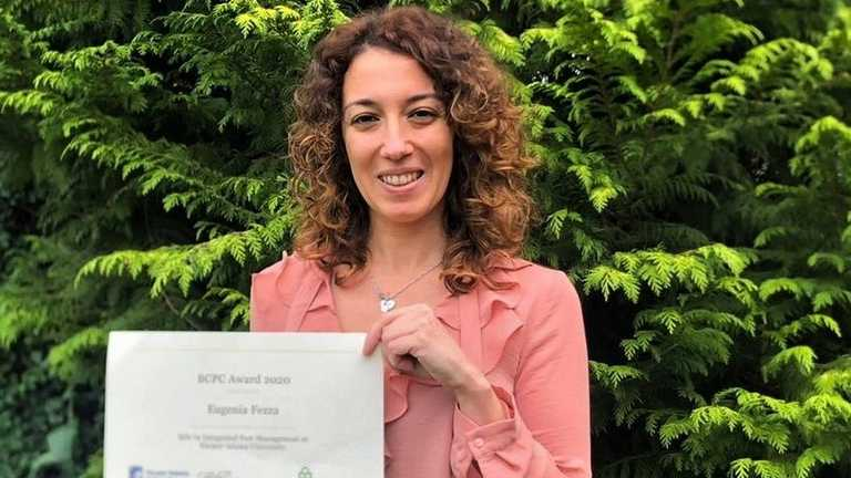 Graduate Prizes 2020: BCPC Award 2020 presented to Eugenia Fezza
