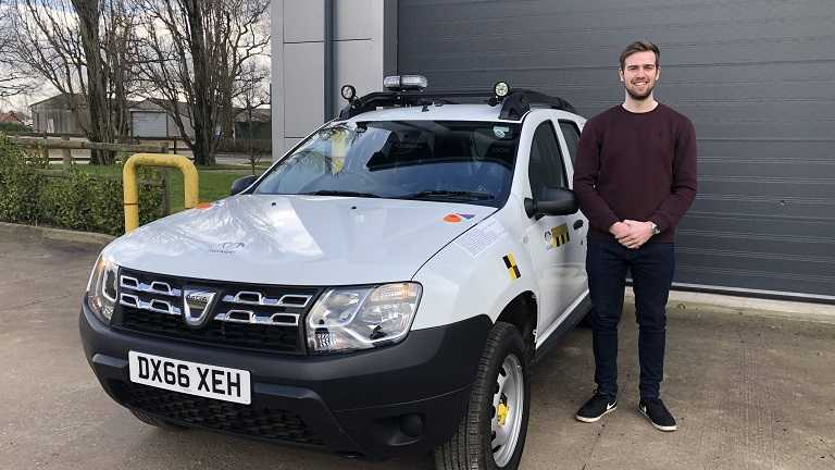 Student's research first in a series of projects aiming to transform car into driverless vehicle
