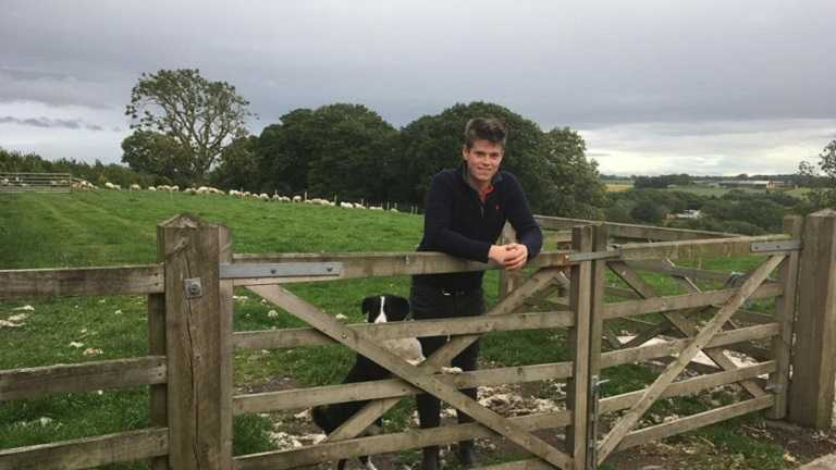 Graduate Rob secures dream job, first farm – and television fame