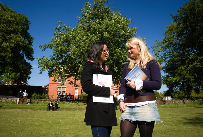 Harper Adams has always taken steps to help Chinese student adjust to life in rural Shropshire