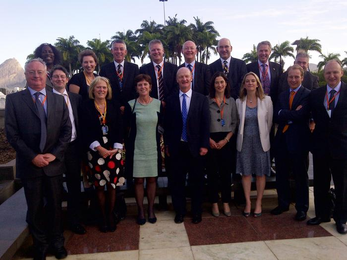 The Science without Borders delegation in Rio