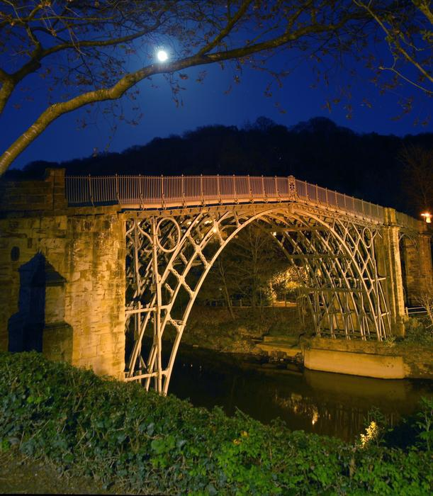 Moon Over Bridge by Simon Hughes: Rural Shropshire's Finest winner